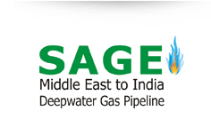 SAGE India, SAGE Pipeline, Natural Gas Pipelines, Gas Transmission Pipelines